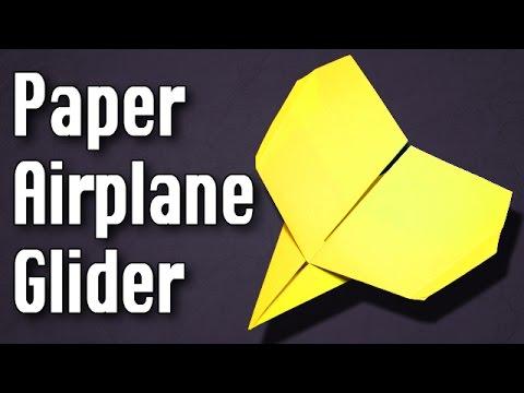 Best Paper Airplane Glider