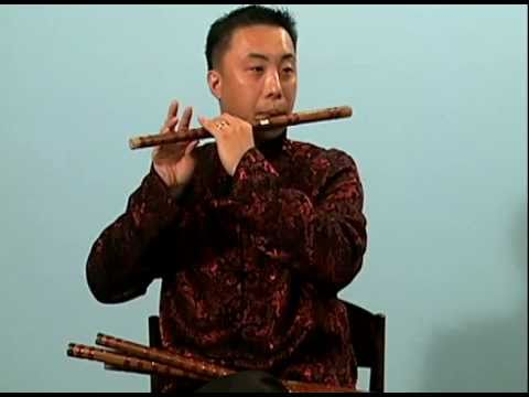 Wei Hou, China, bamboo flutes