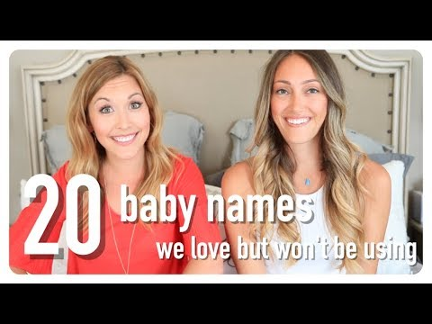 20 baby names i love but won't be using | collab w/ myka stauffer