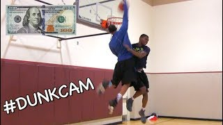 $100 #DunkCam Challenge (Part 3) w/ Chris Staples! Video