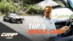 TOP 5 Muscle-Cars I GRIP Originals