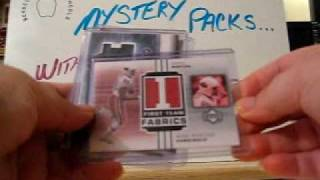 Mystery Pack Football #7 & #10...Without the MYSTERY!