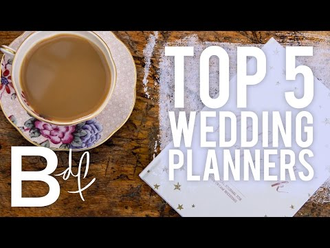Top 5 Wedding Planners from ETSY!