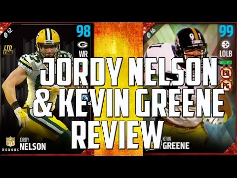 Honors Jordy Nelson and Easter Kevin Greene Dual Review - MUT 17 Dual Review
