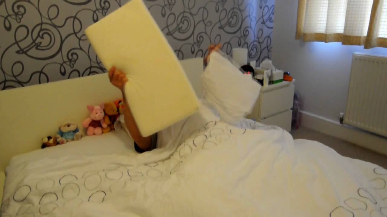 Product review: tempur queen pillow youtube