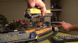 Broadway Limited AC6000 2013 Run Review