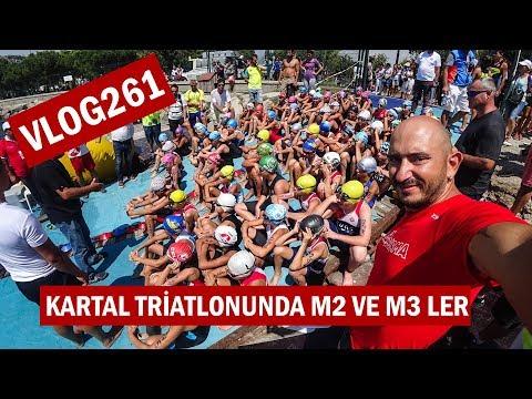 Kartal Triatlonunda Miniklerin kıyasıya yarışı M2 ve M3 ler | Asla Durma Vlog 261
