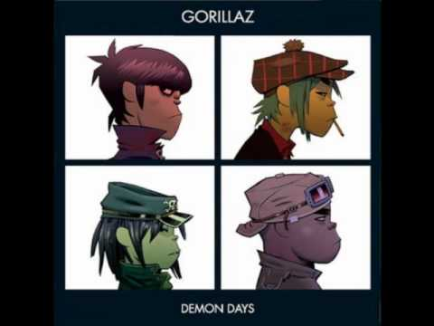 Gorillaz-Clint Eastwood (Lyrics)