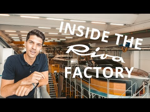 Inside The Famous RIVA YACHT Factory