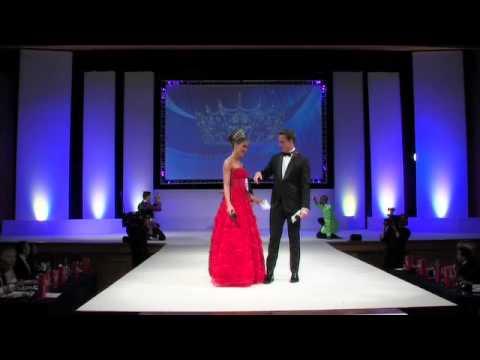 Mr England 2013/14 - Jordan Williams Singing at Miss England 2013