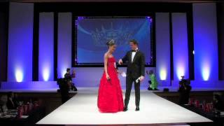 Mr England 2013/14 - Jordan Williams Singing at Miss England 2013
