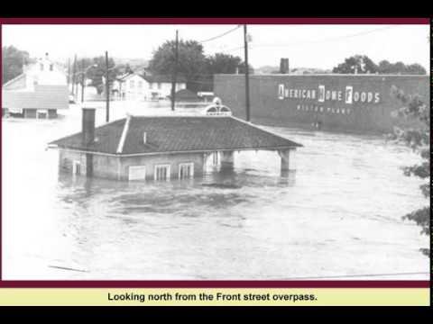 The 1972 Agnes flood at Milton, PA.