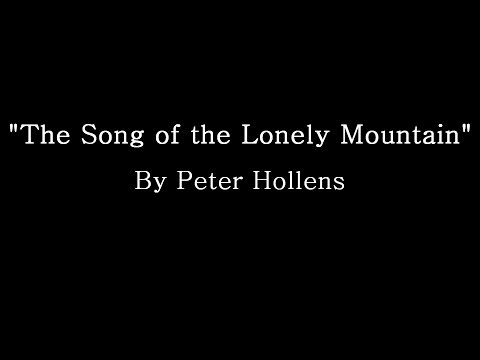 The Song of The Lonely Mountain - Peter Hollens (Lyrics)