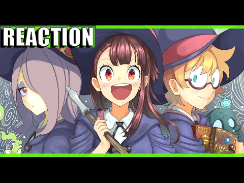 HARRY POTTER EN ANIME | Little Witch Academia REACTION