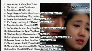 Video 18 Lagu Drama Korea Romantic Bikin Baper ABISS download MP3, 3GP, MP4, WEBM, AVI, FLV Oktober 2018
