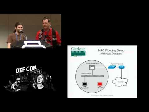 DEF CON 23 - Ronny Bull and Jeanna Matthews -Exploring Layer 2 Security in Virtualized Environments
