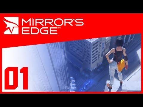 Mirror's Edge - 01 - Parkour Practice [Full Playthrough]