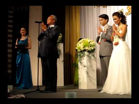 ท่านสุเทพ เป็นประธานงานแต่งงาน