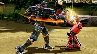 REAL STEEL WRB Asura VS Blacktop & Atom & Bluebot & Aquabot