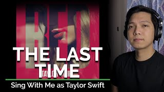 The Last Time (Male Part Only - Karaoke) - Taylor Swift ft. Gary Lightbody
