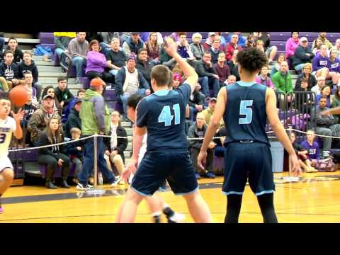 Nashua North vs Nashua South Boys Basketball  1/27/17