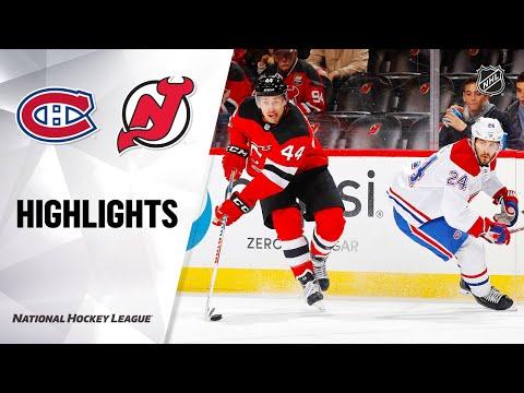 NHL Highlights   Canadiens @ Devils 2/4/20