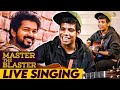 Gambar cover Thalapathy's comment on 'Master the Blaster' | Bjorn Surrao Interview | LIVE Singing