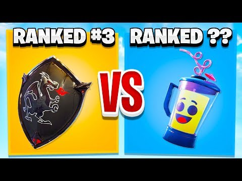 RANKING EVERY BACK BLING IN FORTNITE FROM WORST TO BEST!