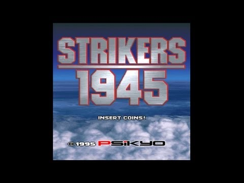 Strikers 1945 1995 Psikyo Mame Retro Arcade Games