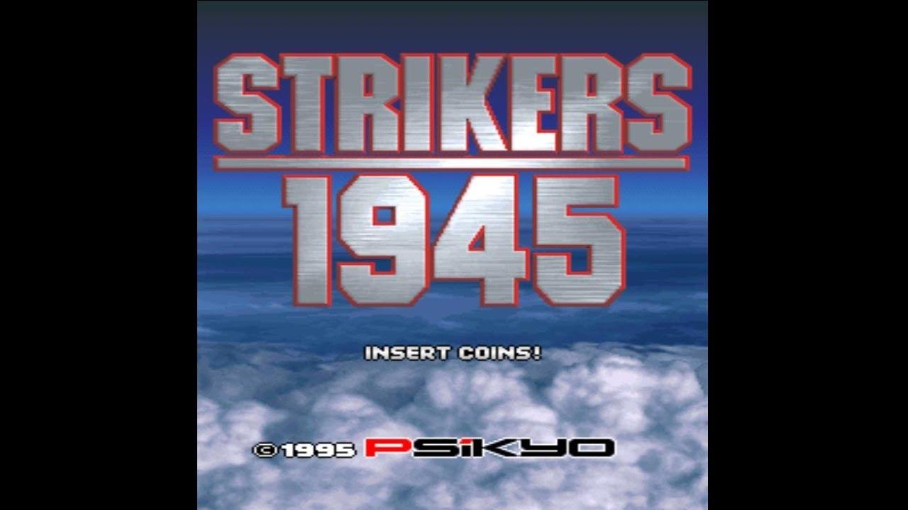 Strikers 1945 1995 Psikyo Mame Retro Arcade Games