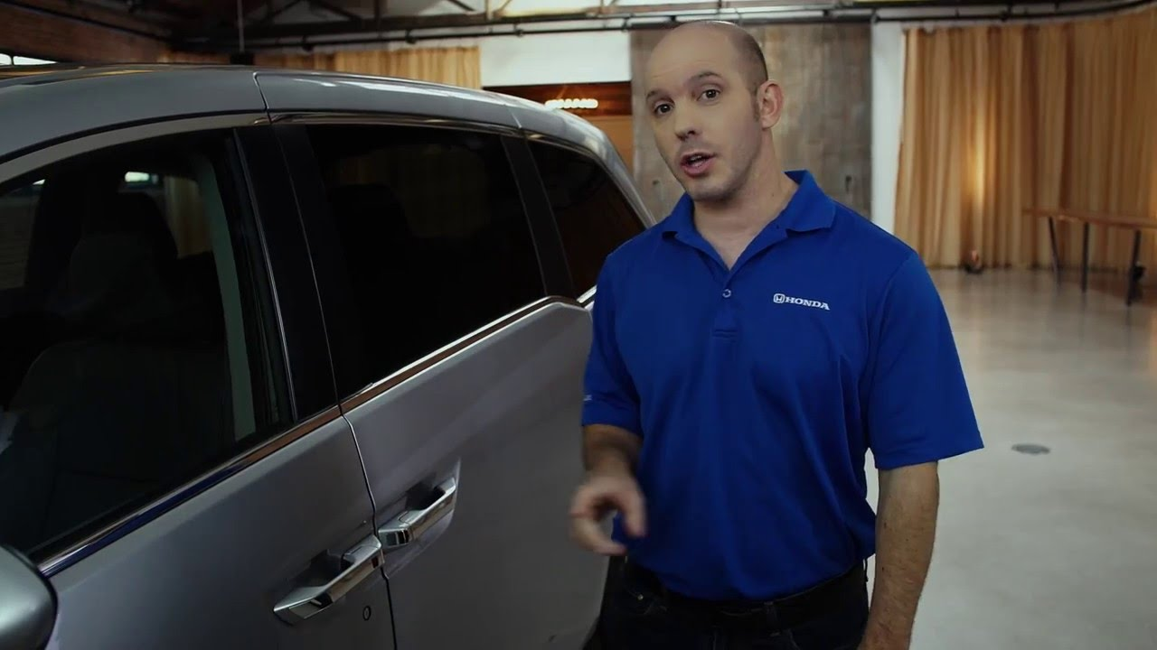 2016 Honda Odyssey Programmable Door Locks Youtube