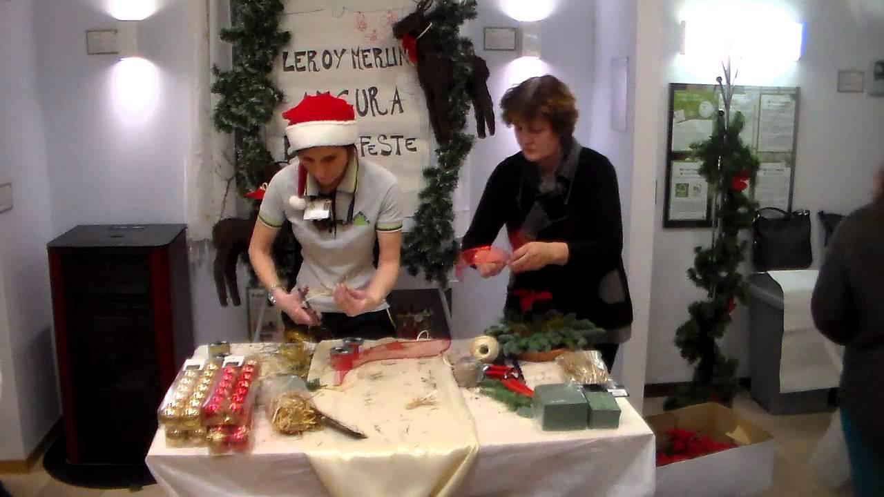 Creare fiocchi natalizi e addobbare l 39 albero di natale 13 for Leroy merlin albero di natale