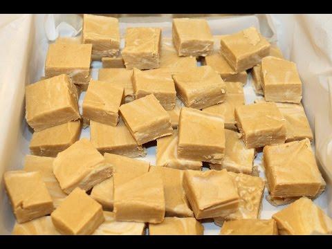 Making 2 Ingredient Peanut Butter Fudge – Fastest, Easiest Fudge Recipe EVER