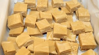 Making 2 Ingredient Peanut Butter Fudge – Fastest, Easiest Fudge Recipe EVER