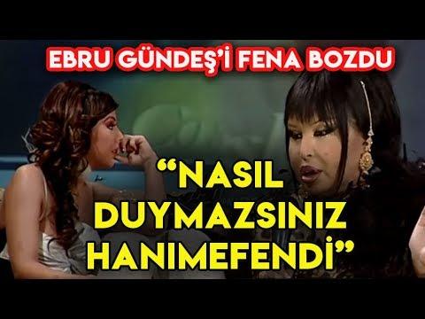 Bülent Ersoy, Ebru Gündeş'i Öyle Bir Azarladı ki!