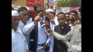 UDF (S) President Chaudhary Sartaj Advocate Protest against Hashimpura Massacre Verdict