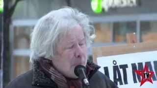 """Manifestation """"Låt Maria Stanna"""" - Luleå"""