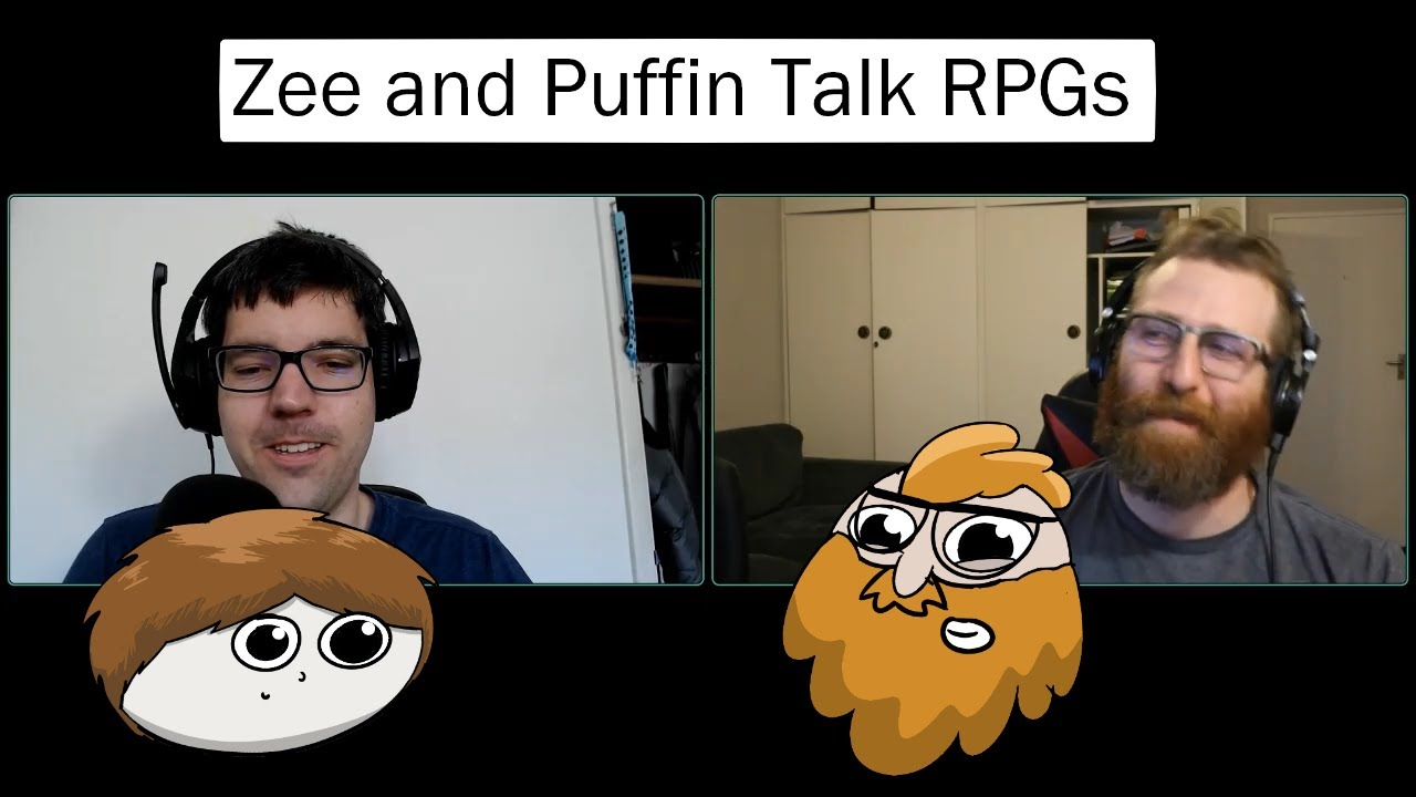 Zee and Puffin talk about stuff