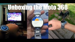 Moto 360: Android Wear Smart Watch Unboxing(I'm only 12 hours with moto 360 (at the time of this video) and my first impression, it feels like quality on my wrist and looks damn cool. Get it on amazon ..., 2015-03-06T11:53:43.000Z)