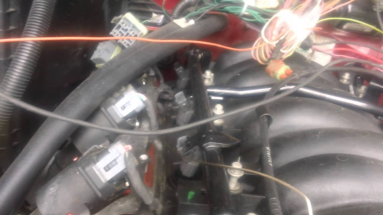 s10 5 3l swap part 7 making the engine harness  [ 1280 x 720 Pixel ]
