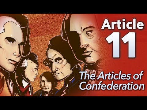 "♫ Articles of Confederation: ""Article 11"" - Sean and Dean Kiner - Extra History"