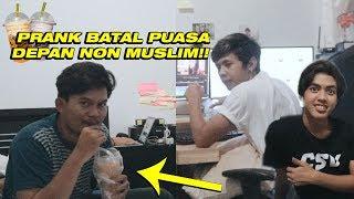 PRANK BATAL PUASA DEPAN PUTU BAHAGIANA & NYOK MALAH BATAL BENERAN !!!