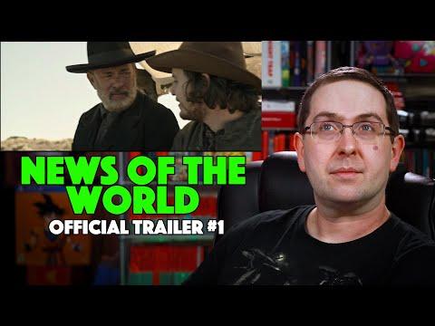 REACTION! News of the World Trailer #1 – Tom Hanks Movie 2020