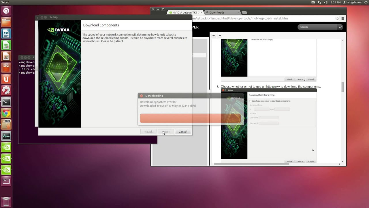 NVIDIA Jetson TK1 - JetPack - Development Pack (1 0 Beta)