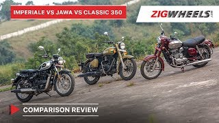 Benelli Imperiale 400 vs Jawa vs Royal Enfield Classic 350 | Comparison Review | ZigWheels