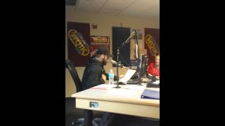 Brantley Gilbert Reads 50 Shades Of Grey With 99.1 WQIK