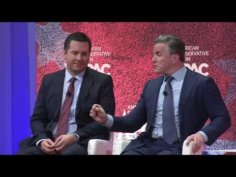 CPAC 2019 - A Conversation w/ Rep. Devin Nunes and Tom Fitton, Judicial Watch