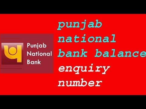 punjab national bank balance enquiry number, punjab national bank balance enquiry number toll free