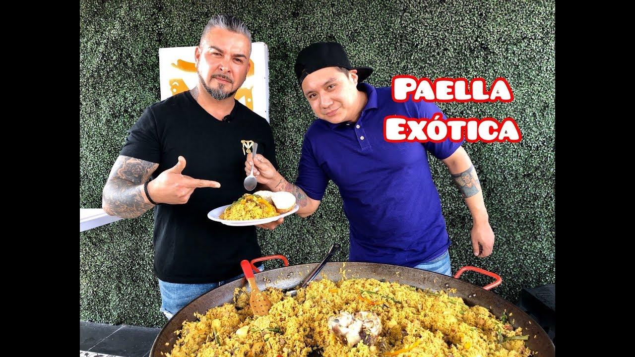 Download Paella Exotica Hecha con Carnes Espaciales