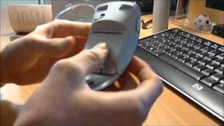 Déballage: Souris sans-fil Microsoft Arc Mouse noir